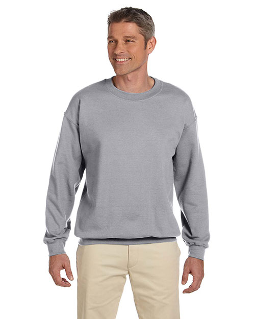 Jerzees 4662 Men 9.5 Oz. 50/50 Super Sweats Nublend Fleece Crew at GotApparel