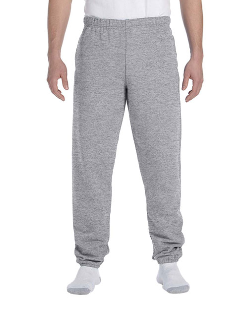 Jerzees 4850P Men 9.5 oz., 50/50 Super Sweats NuBlend Fleece Pocketed Sweatpants Oxford at GotApparel