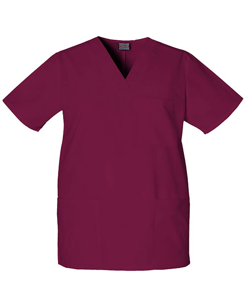 Cherokee Workwear 4876 Unisex V-Neck Top at GotApparel