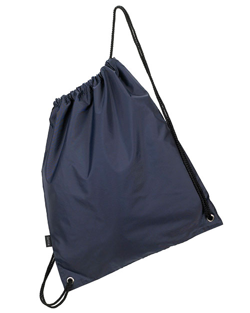 Gemline 4921 Polyester Cinchpack Drawstring Bag Navy at GotApparel