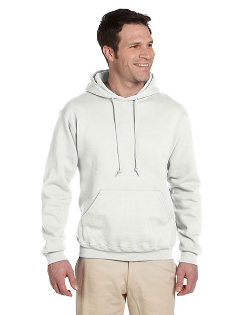 Jerzees 4997  50/50 Pullover Hoody WHITE at GotApparel