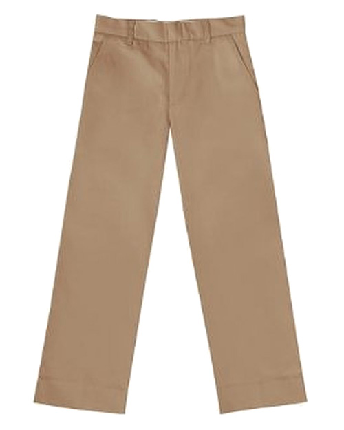 Classroom Uniforms 50382SE Boys Flat Front Pant Slim  at GotApparel