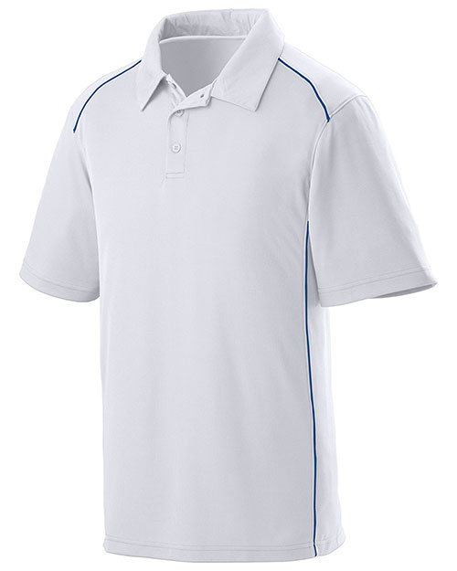 Augusta 5091 Men Winning Streak Coaching Polo Sport Shirt at GotApparel