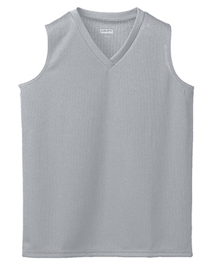 Augusta 526 Girl's Wicking Mesh Sleeveless Jersey at GotApparel