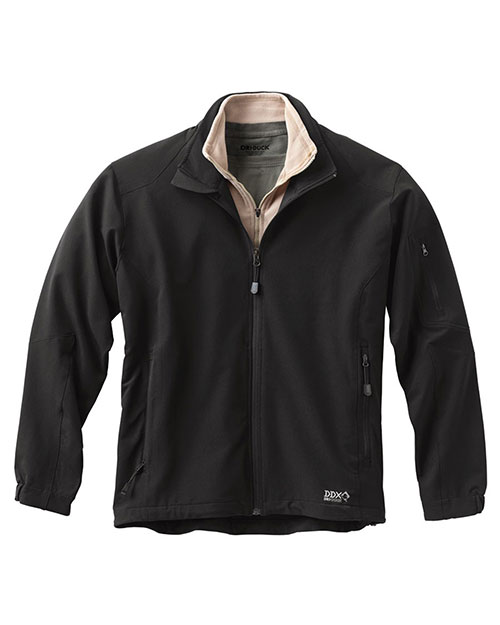 Dri Duck 5309 Men Baseline Soft Shell Jacket Black at GotApparel