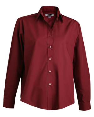 Edwards 5363 Women Long-Sleeve Broadcloth Shirt at GotApparel