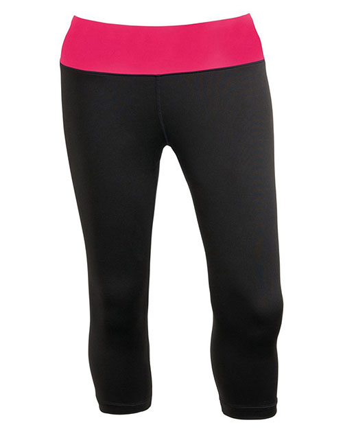 Charles River Apparel 5466 Women Fitness Capri Legging at GotApparel