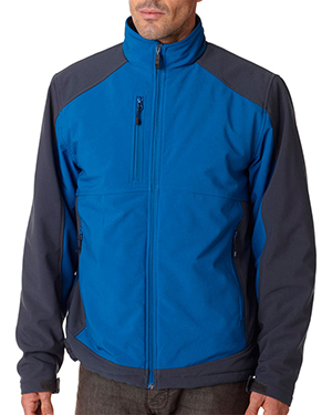 Storm Creek 5705  Heavyweight SoftShell Ripstop Parka Storm Blue/ Tar at GotApparel