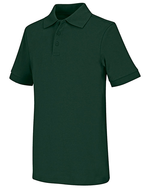 Classroom Uniforms 58914 Men Short Sleeve Interlock Polo  at GotApparel