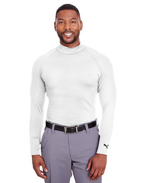 Puma Golf 596808 Men Raglan Long-Sleeve Baselayer at GotApparel