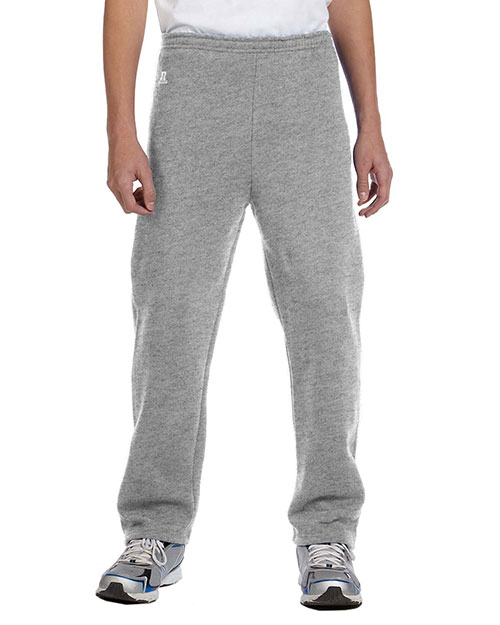 Russell Athletic 596HBB Boys DriPower Fleece Open-Bottom Pant Oxford at GotApparel