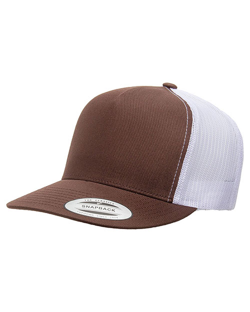 Yupoong 6006 Men 5-Panel Classic Trucker Cap at GotApparel