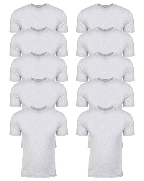 Next Level 6010 Men Tri-Blend Crew 10-Pack at GotApparel