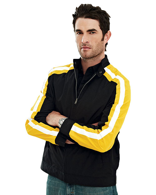 Tri-Mountain 6010 Men Superbike Long-Sleeve Wind Jacket With Water Resistent at GotApparel