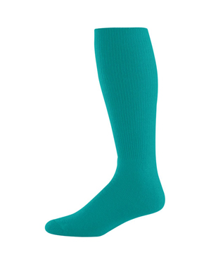 Augusta 6027 Boys Athletic Socks Teal at GotApparel
