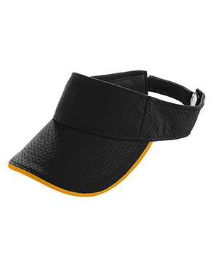 Augusta 6224 Boys Athletic Mesh TwoColor Visor at GotApparel