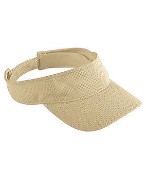 Augusta 6227 Men Athletic Mesh Visor Vegas Gold at GotApparel