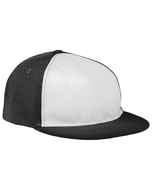 Augusta 6255 Men Athletic Mesh Flat Bill Baseball Cap at GotApparel