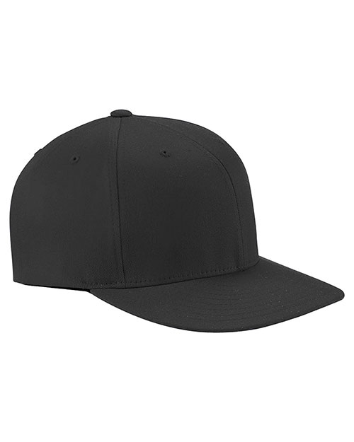 Yupoong 6297F Unisex Wooly Twill Pro Baseball OnField Shape Cap with Flat Bill at GotApparel