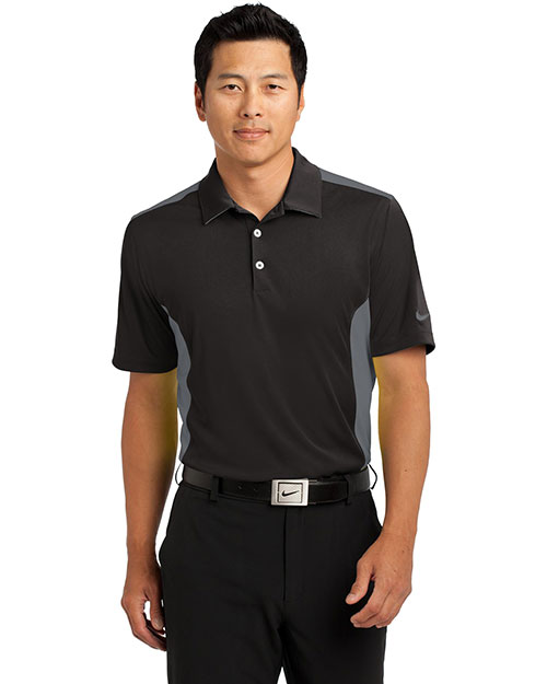 Nike 632418 Men Dri-FIT Engineered Mesh Polo. at GotApparel