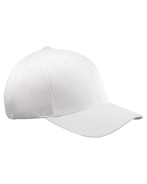 Yupoong 6533 Unisex Flexfit Ultrafibre Cap White at GotApparel