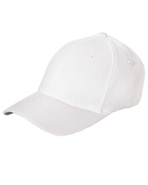 12  CUSTOM LOGO EMBROIDERED CAP HAT  Flexfit Cool /& Dry® Tricot CAPS 6572