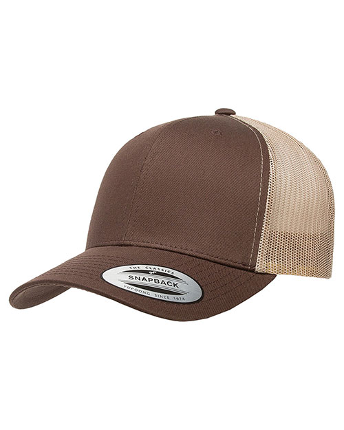 Yupoong 6606 Men Retro Trucker Cap at GotApparel