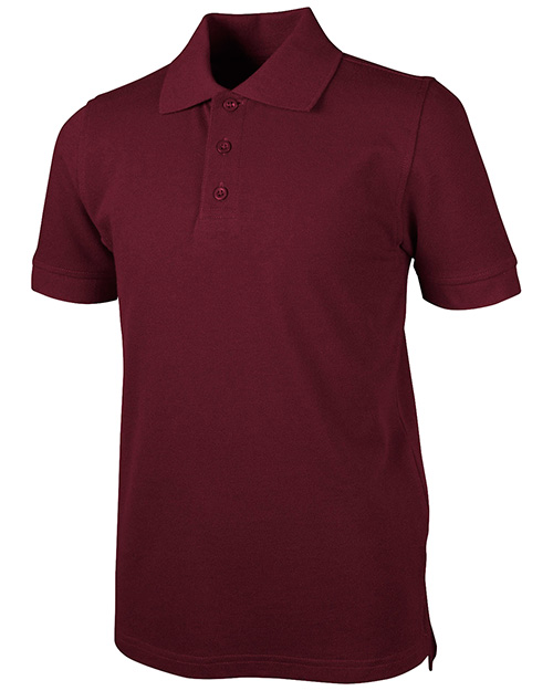 Real School Uniforms 68114  S/S Piuqe Polo at GotApparel