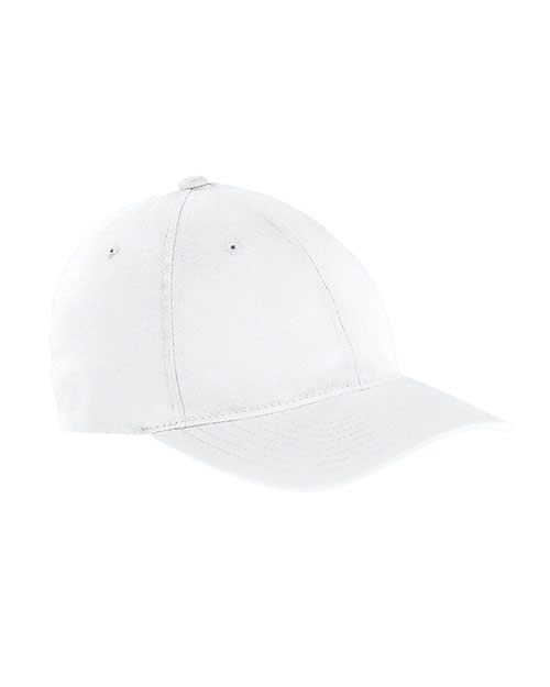 Yupoong 6997 Unisex GarmentWashed Twill Cap White at GotApparel