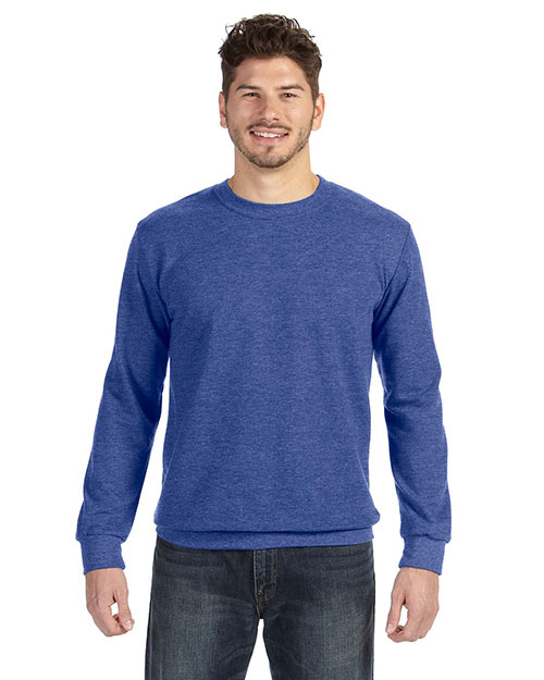 Anvil 72000 Men Crewneck French Terry Sweatshirt at GotApparel