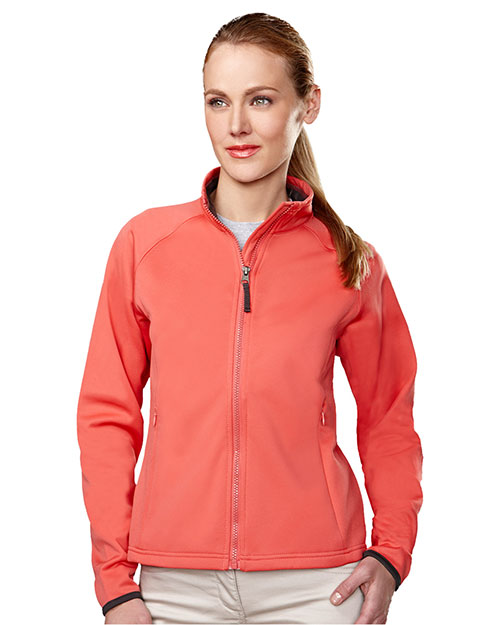 Tri-Mountain 7320 Women Arena Polyknit Fleece Full Zip Jacket at GotApparel
