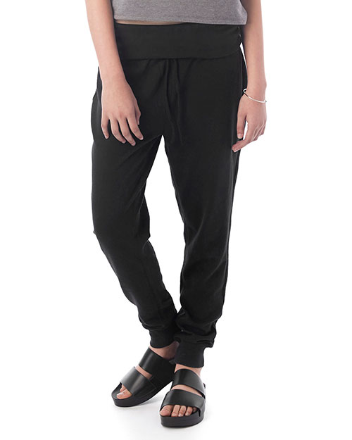 Custom Embroidered Alternative Apparel 7600B Women Slow Vintage Heavy Knit Jogger Pant at GotApparel
