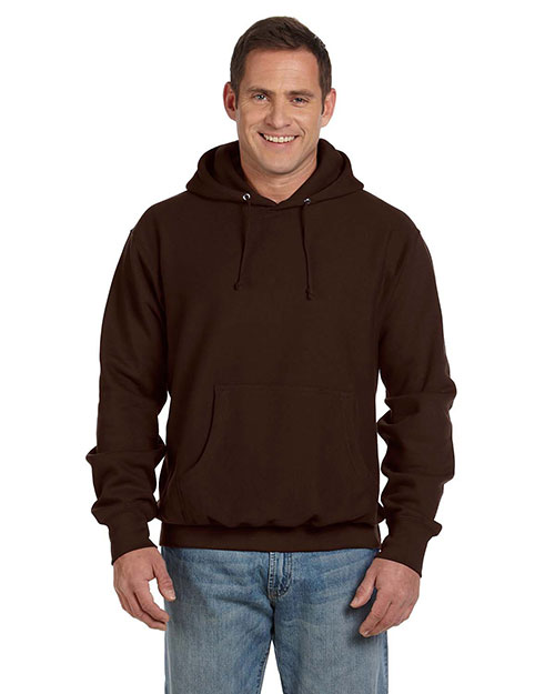 Weatherproof 7700 Men Cross Weave Hooded Sweatshirt at GotApparel