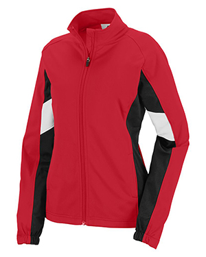 Augusta 7724 Women Tour De Force Front Zipper Jacket at GotApparel