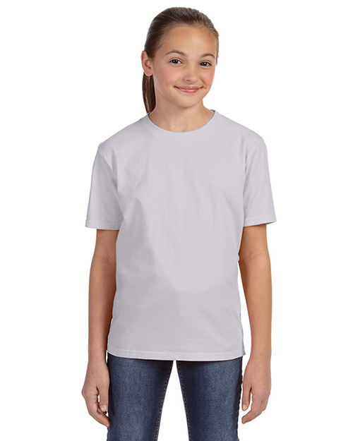 Anvil 780B Girls Midweight T-Shirt Ash at GotApparel