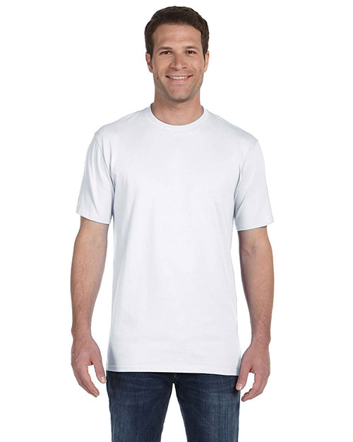 Anvil 780 Men Midweight TShirt White at GotApparel