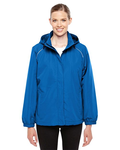 Core 365 78224 Women Profile Fleece-Lined All Season Jacket at GotApparel