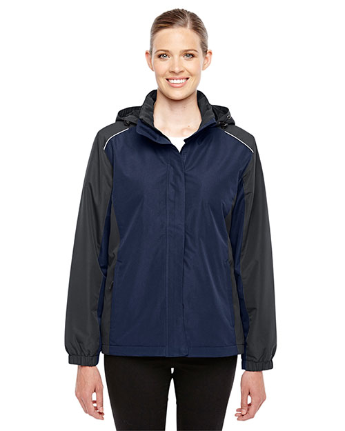 Core 365 78225 Women Inspire Colorblock All Season Jacket at GotApparel