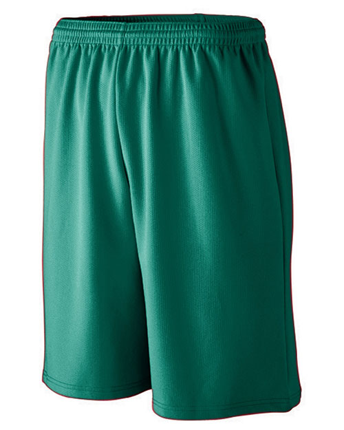 Augusta 802 Long Length Wicking Mesh Athletic Short at GotApparel