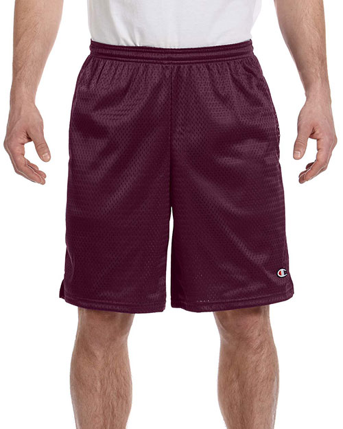 Custom Embroidered Champion 81622 Men 3.7 Oz. Mesh Short With Pocket at GotApparel