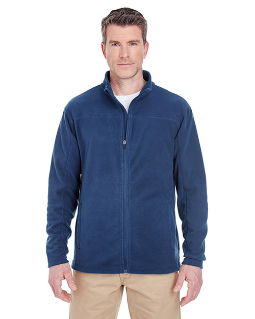 UltraClub 8185 Adult Men Cool & Dry Full Zip MicroFleece at GotApparel
