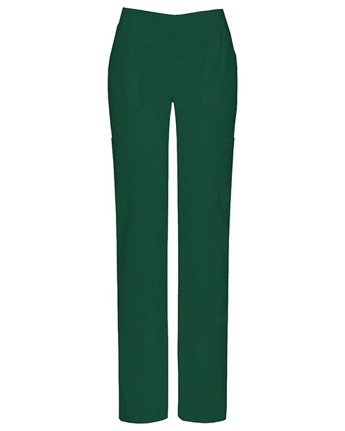 Dickies Medical 82204A Women Mid Rise Moderate Flare Leg Pull-On Pant at GotApparel