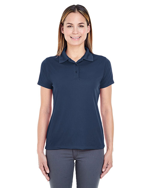 UltraClub 8255L Women Cool & Dry Jacquard Performance Polo at GotApparel