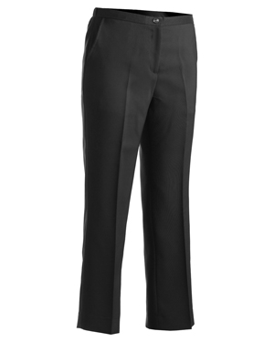 Edwards 8279 Women Flat Front Polyester Pant at GotApparel