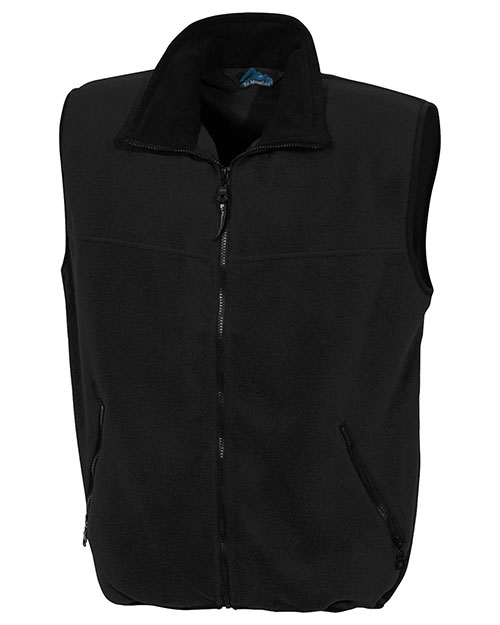 Tri-Mountain 8350 Men Excursion Panda Fleece Vest at GotApparel
