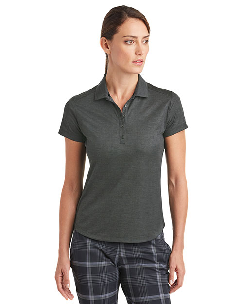 Nike 838961 Ladies 5.29 oz Dri-FIT Crosshatch Polo at GotApparel