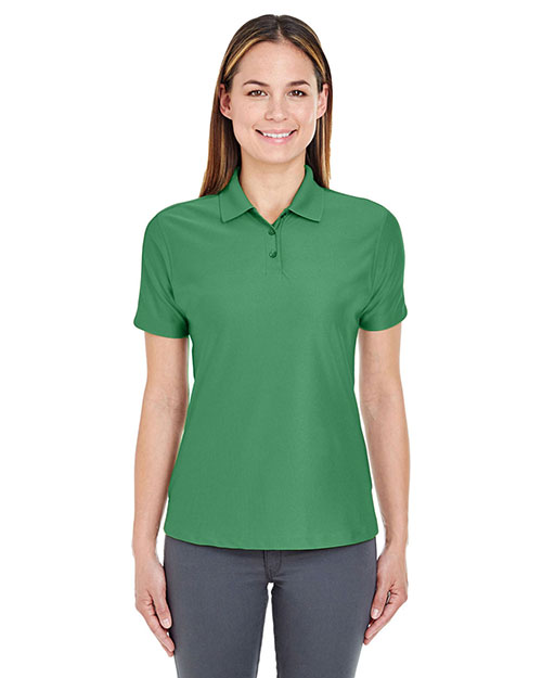 UltraClub 8414 Women Cool & Dry Elite Performance Polo Augusta Green at GotApparel