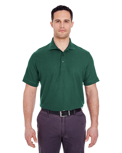 UltraClub 8560 Men Basic Blended Pique Polo at GotApparel