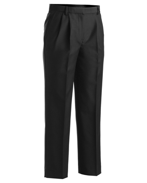 Edwards 8629 Women Washable Wool Blend Zipper Front Pocket Pleated Dress Pant at GotApparel