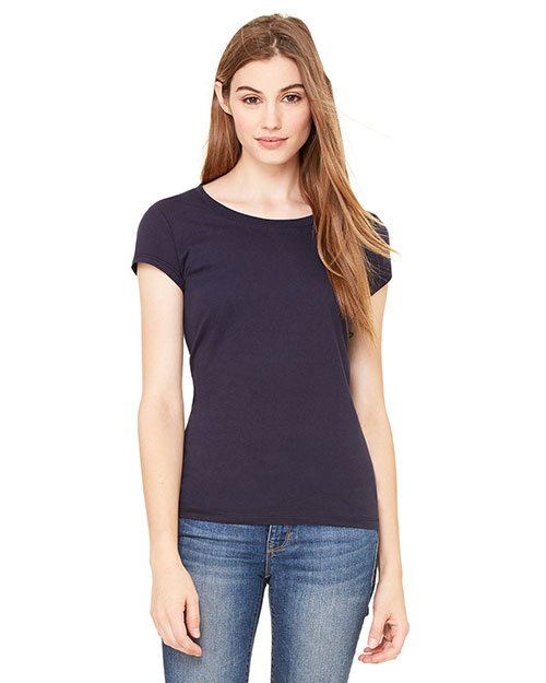 Bella 8701  Ladies Longer Length S/S T MIDNIGHT at GotApparel